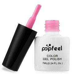 7ml Popfeel 12 Colors Lasting Red Wine Series LED UV Gel Manicure Nail Polish