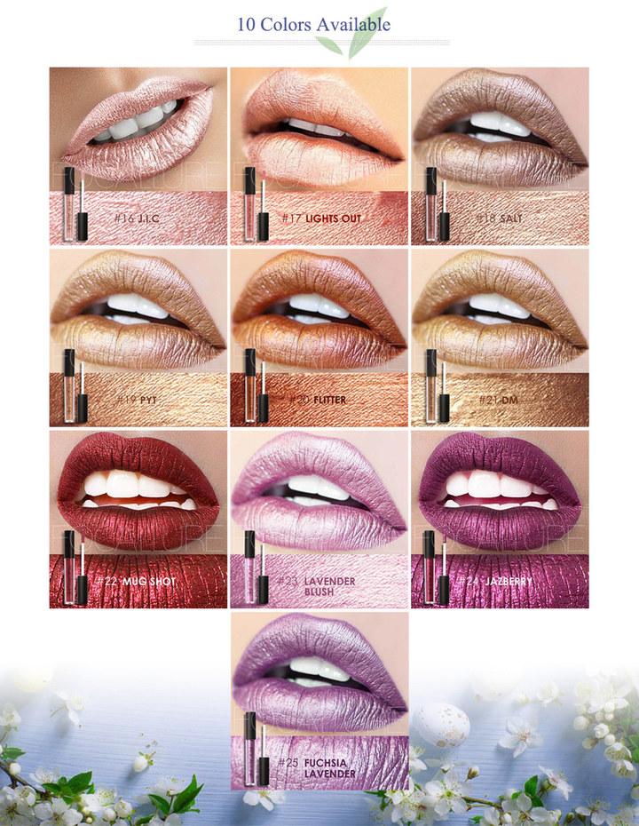FOCALLURE Liquid Sexy 10 Colors Matte Waterproof Long Lasting Lip Gloss #17