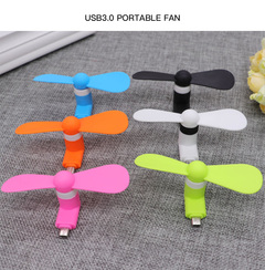 Android iPhone USB interface Mobile Phone Fan random color Random colors one size