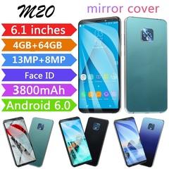 New mobile phone M20 6.1 inch 4GB + 64GB full screen 8MP + 13MP smart phone green