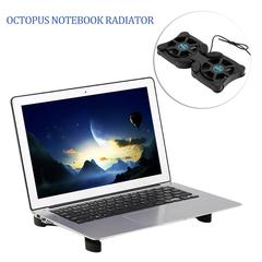 USB Port Mini Octopus Notebook Fan Cooler Cooling black A04060000180601