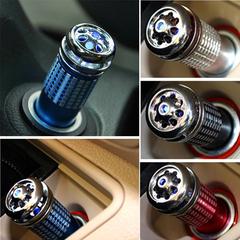 Car Charger Mini Air Purifier Diffuser Car Air Fresh black G02020000250601