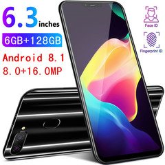 New SaileX21 Android 8.1 system eight core 4 gram smart phone 3800 mAh battery large screen 6.2 inch black