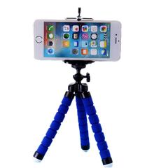Sponge Octopus Mobile Tripod Mini Micro Single Card Camera Desktop Mobile Video Stand Blue 175MM