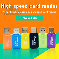 High speed USB card reader Multi-color optional black micro Storage Cards