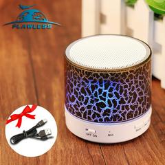 Bluetooth audio card mobile phone computer cannon mini subwoofer wireless led light small speaker black 3w model