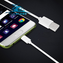 Mobile phone Android data cable V8 charging cable Microusb smart phone universal S4 data cable one color One size