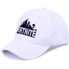 New hat men and women fortress night Fortnite game duck tongue baseball cap casual hat white onesize