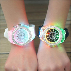 1-5 days to reach your hands, Very fast delivery speed,light watches, practical and convenient silver white onesize