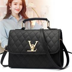 New fashion ladies handbag simple shoulder bag black High quality and Large capacity