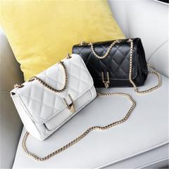 New women's shoulder bag fashion casual chain Messenger bag handbag white high quality and large capacity handbags