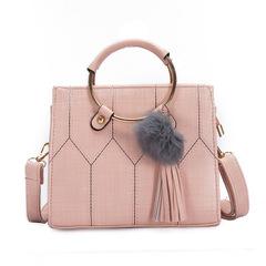 New ladies fashion fashion shoulder diagonal handbag pink high quality and large capacity handbags