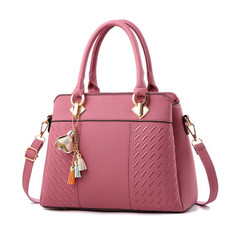 New ladies bag sweet fashion handbags slung shoulder bag  women  handbags pink high quality and large capacity