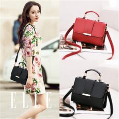 New ladies single shoulder slung fashion women handbag wine red onesize