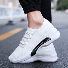 New summer men's shoes casual shoes cloth shoes men's shoes sports men's shoes white 40