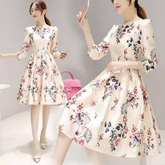 New Women's Sleeve Plus Size Dress Casual Skirt dresses s as picture