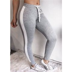 Women Fitness Leggings Sports Yoga Workout Gym Pants Athletic Clothes gray s