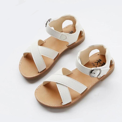 Girls Shoes kids Baby Girls Sandals Shoes Skidproof Toddlers Infant Children slipper Shoes white 29