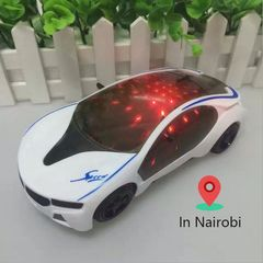 Light Car Toys Music Sound Electric Toy children Kids Play Vehicles boy girl toy car babay white oneszie