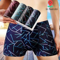 4pc Men's  cotton Underwear Men Clothes Men's Underwear boy  comfortable gift bargains Mixed colors 2XL