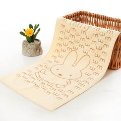 COOL LIFE Superfine Fiber 25*50 Printed Cartoon  Absorbing Children's Soft  Towels beige 25 * 50 cm