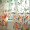 200*100cm Romantic Butterfly Blinds Curtain Yarn Tulle Organza Child Window Screen Living Bedroom colorful-same with picture 200*100cm