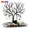 1pc Deer Earrings Necklace Ring Pendant Bracelet Jewelry Display Tree Storage Racks Organizer Holder black