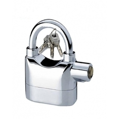 Alarm heavy duty padlocks Silver one size