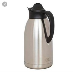 Stainless Steel Thermos Flask -2 Litres Silver One size silver 2 litres