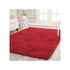 Fluffy Carpets 5*8 red 7*8