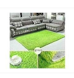 Fluffy Carpet  5*8 Green green 5*8