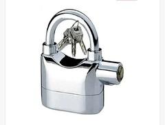 Alarm padlocks silver one size