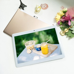 Tablet Android 6.0 S10:IPS HD screen,Quad core,2G+32G,2G/3G/4G call,2.5D sound cavity gold
