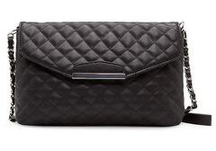 Handbags For Women Ladies PU Leather  Purse  Messenger Bags Fashion White Black Shoulder Handbags Black 24cm*15cm*5cm