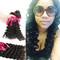 HumanVirgin Remy Hair Bundles Closure Hair Weaves Wigs For Women Deep Weave natural 18inch