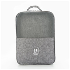 High-quality multi-functional dust-proof shoe bag, foldable, shoe box, storage bag, Gray 30cm*20cm*13cm