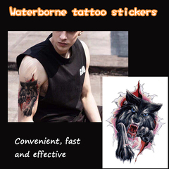 New Waterproof Tattoo for Men and Women with Decorated Arm Tattoo/Fast Tattoo Note Number and Quantity
