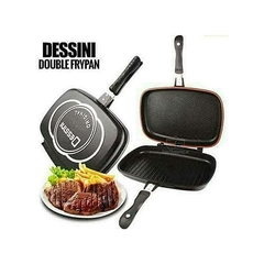 Dessini double pan- 36cm Black