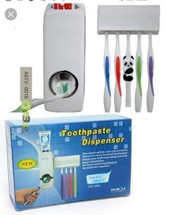 Unique Toothpaste dispenser white