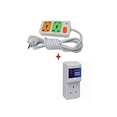 Fridge Guard + Free 2-way Heavy Duty Power Extension Cable