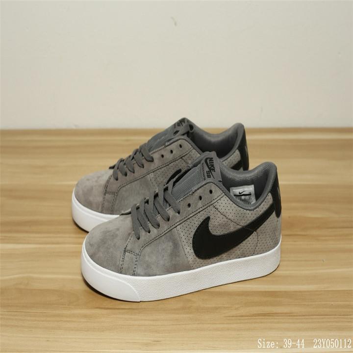 e76fac78e4ea Men s Fashion Sneakers nike Sb Blazer Vaopr Low-cut Casual Sport Shoes gray eu  40