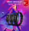 Bluetooth Smartwatch Sport Waterproof Smart Bracelet Heart Rate Smart Wristband Fitness Tracker black One Size