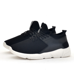 Men's shoes casual running shoes with the trend of old Beijing cloth shoes portable wholesale black/white 39