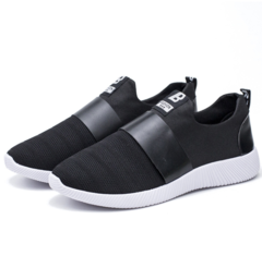 New Korean version of men's shoes casual shoes for men running shoes black 39