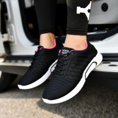 2019 new men's shoe all-in-one casual sneaker light breathable men's shoes board shoes black 39