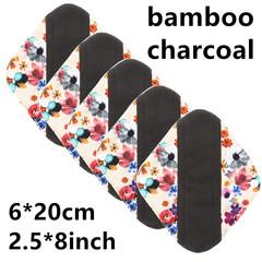 Washable sanitary pad women's sanitary pad bamboo charcoal washable sanitary pad