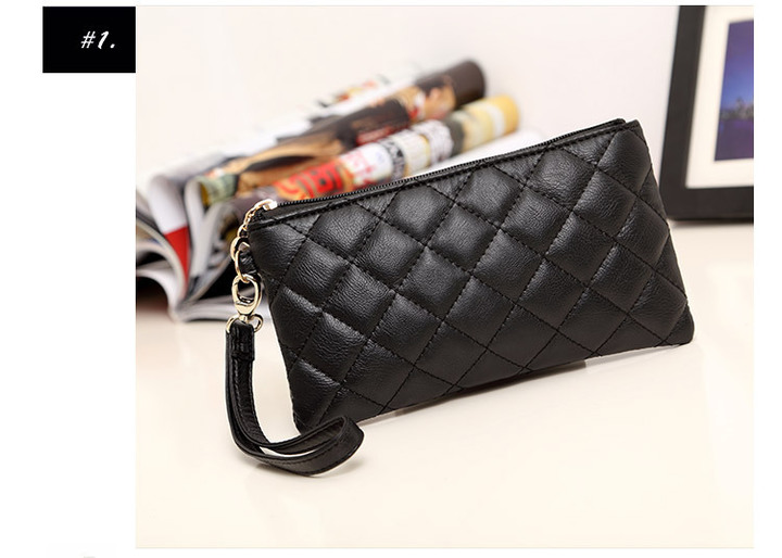 9eeb1d2eb97 woman hand bag gift new mobile phone bag zero purse fashion women's small  bag black normal