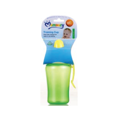 M/Easy PP WATER BOTTLE WITH SINGLE HANDLE & SOFT SPOUT 330ML/11OZ