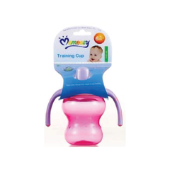 M/Easy PP NON-SPILL BABY TRAINING CUP WITH SOFT SPOUT 180ML/6OZ
