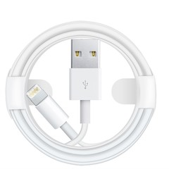 The original Apple USB data line 1M is suitable for iPhone 5/5s/6/6s/7/8 white 1m